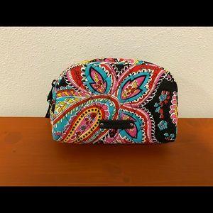 Vera Bradly Small Zip Cosmetic Bag